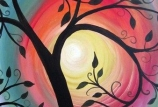 Halloween Tree Painting (seniors 55 and up)