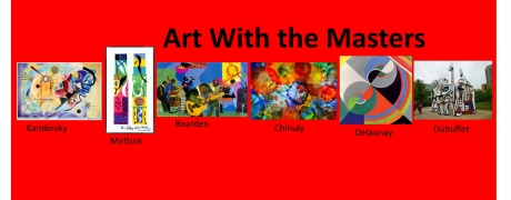 Art with the Masters (ages 6+)