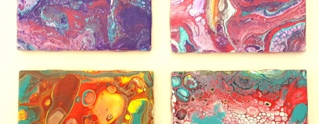 Cocktails & Creations: Acrylic Pour and more