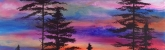 (Class Full - Enrollment Closed) Forest Sunset on Canvas(Cocktails and Creation - 21 and up)