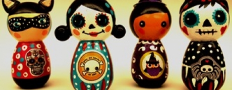 Halloween Figures or ornaments with Jenny Cowgill (ages 6-adult)