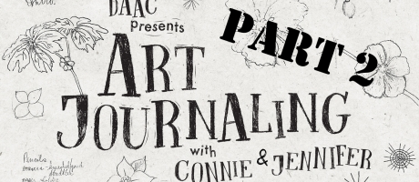 "Part 2 - Free ""Art Journaling"" Series on Facebook Live"