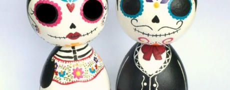 Halloween Figures or Ornaments with Jenny Cowgill (Cocktails and Creations - 21 and up)