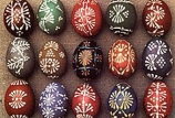 Ukrainian Pysanky Egg Painting