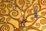 Cocktails & Creations: Klimt Tree of Life Paint Like Me on Canvas with Gold Leaf