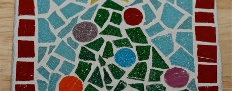 Cocktails & Creations: Winter Mosaic Tile