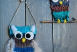 Woven Owl Wall Hangings (Seniors - 55 and up)